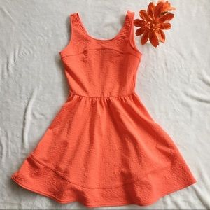 🔆 BRAND NEW BLOOMINGDALES Coral Dress 🔆
